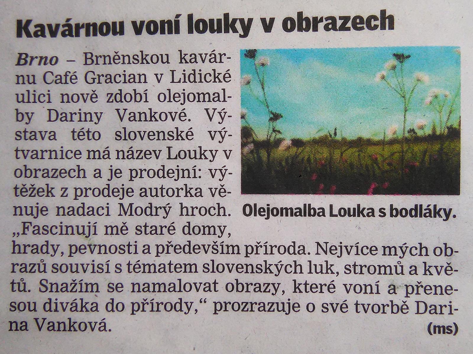 Brněnský denník Rovnost